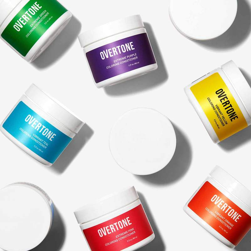 9 coloring conditioners all in a row